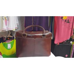 کیف دست دوز چرم طبیعی