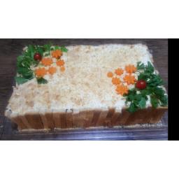 کیک مرغ دوکیلویی