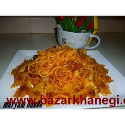 ماکارونی ایتالیایی همراه با مخلوط گوشت