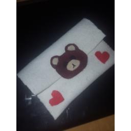 کیف نمدی کوچک طرح خرس