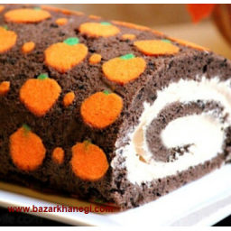 کیک رولت طرحدار