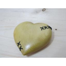 قلب چوبی