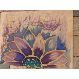 ساک دستی پارچه ای با طرح گل