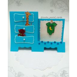 کارت تبریک تولد کودک پسرانه