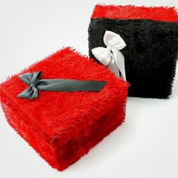جعبه کادوی خزدار