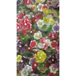 گل کریستالی متفاوت