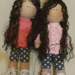 عروسک دست ساز ایرانی