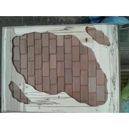 زیر کار چوبی مخصوص تابلو خط