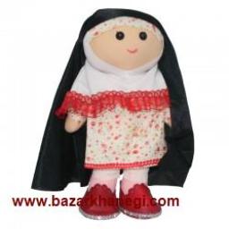 عروسک ایرانی اسلامی آبجی زینب (چشم دکمه ای)