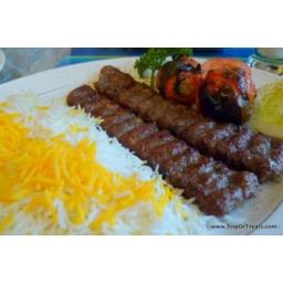 کباب کوبیده عربی