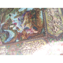 تابلو فرش دستباف یوسف و زلیخا دورشعر