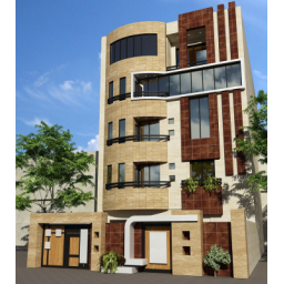 طراحی نمای ساختمان با3max