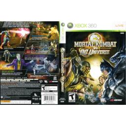 Mortal Kombat vs DC Universe---xbox