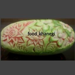 حکاکی هندوانه یلدا