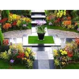 طراحی و اجرای فضای سبز لامزیا