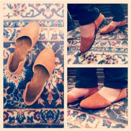 کفش دست دوز زنانه