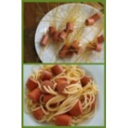 ماکارونی سوسیسی