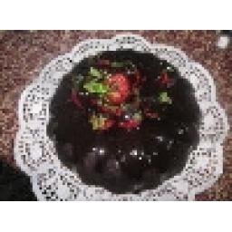 کیک شکلاتی بدون خامه