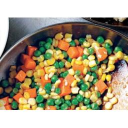 مخلوط هویج، نخود و ذرت برای سوپ