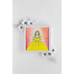 تابلو نقاشي زنان كوچك