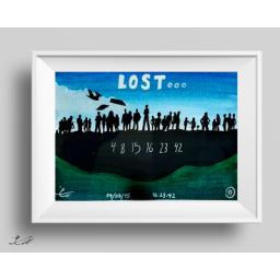 تابلو نقاشي گمشدگان(لاست)