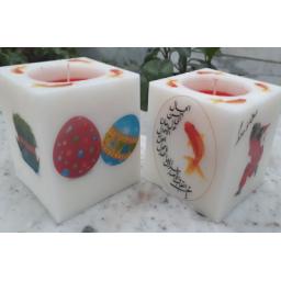 انواع شمع مکعبی