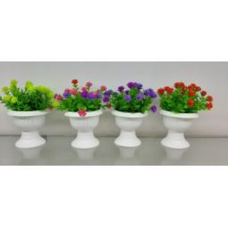 گل و گلدان پایه دار