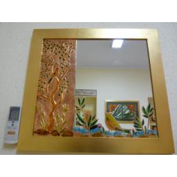حکاکی آینه