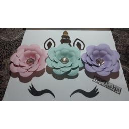 گل مقوایی کاغذی