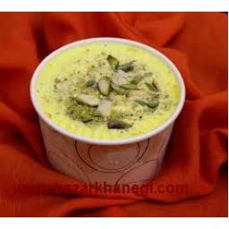 بستنی سنتی زعفرانی